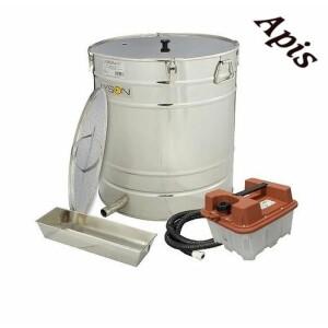 Topitor de ceara cu aburi si generator 200L Ø600mm