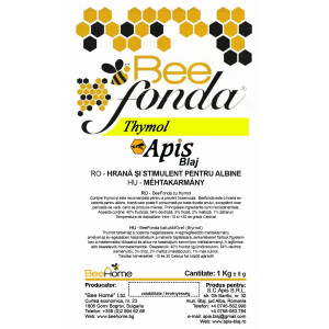 Turta pentru albine, BeeFonda cu Thymol