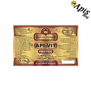 Turta Api-Vit proteic, 1 kg