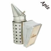 Afumator galvanizat BeeTools cu protectie, 32 cm