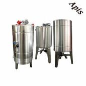 Bazin pentru miere 1000 l (1350 kg miere) cu capac, incalzire si omogenizator