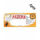 Eticheta miere din stupina proprie