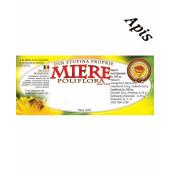 Eticheta miere Poliflora din Stupina proprie