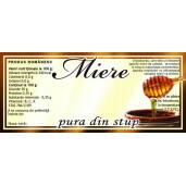Eticheta miere Pura din Stup (116x50 mm)