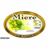 """Eticheta miere """"Rapita"""" (92x60 mm)"""
