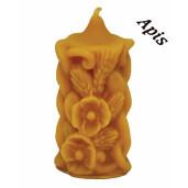 """Forma de lumanare """" floare mac"""", din silicon - Lyson"""