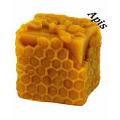 """Forma de lumanare """"Patrat cu celule"""", din silicon - Lyson"""