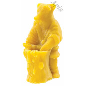 """Forma de lumanare """"Urs si albine"""" din silicon - Lyson"""