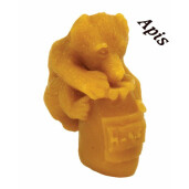 "Forma de lumanare ""Ursulet cu bidon de miere"", din silicon - Lyson"