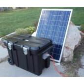 Kit fotovoltaic solar cu panou de 100 watt