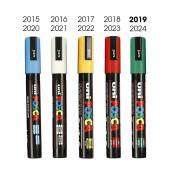 Marker pentru marcat  matci (diferite culori, inclusiv ALB)