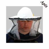 Palarie apicola-plasa in fata