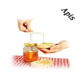Pompita pentru miere cu capac plastic