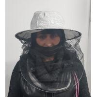 Masca pentru apicultura, simpla