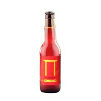 Bere cu miere, 0.33 l, rosie, nepasteurizata si nefiltrata