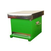 Stup CUBOBOX, cuib 10 rame 1/1, podisor , fundantivaroa, capac