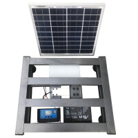 Cantar electronic, fotovoltaic, cu SMS