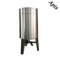 Bazin pentru miere 2000 l  cu capac si picioare - Lyson