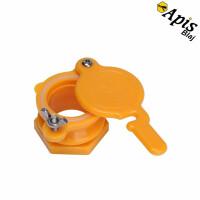 Canea din plastic - portocalie