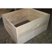 Magazie (cat) 3/4 din lemn pentru 10 rame