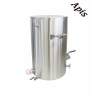 Decristalizator 200 kg cu canea inox 5/4'' cu manere