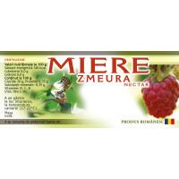 Etichete miere de Zmeura (116x50 mm)