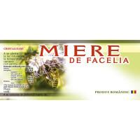 Eticheta miere de Facelia (116x50 mm)