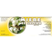 Etichete miere de Salcam (154x60 mm)