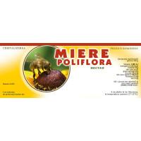 Etichete miere Poliflora (154x60 mm)