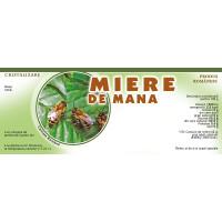 Eticheta miere de Mana(154x60 mm)