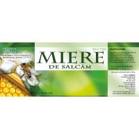 Eticheta miere de Salcam (154x60 mm)