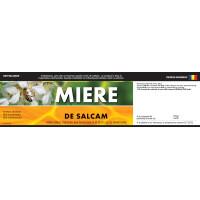 """Etichete miere de """"Salcam"""" (200x55 mm)"""