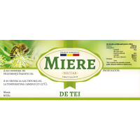 "Eticheta miere de ""Tei"" (116x50 mm)"
