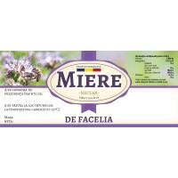 """Etichete miere de """"Facelia"""" (116x50 mm)"""
