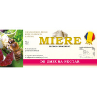 Eticheta miere Zmeura Nectar (154x60 mm)