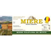 Etichete miere Poliflora de munte (154x60 mm)