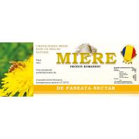 Eticheta miere de Faneata Nectar (154x60 mm)