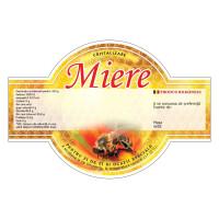 Etichete miere cu aripioare (125x86 mm)