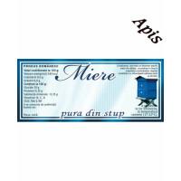 Eticheta miere Pura din Stup