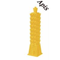 """Forma de lumanare """"Turnul din Taipei"""" mare din silicon - Lyson"""