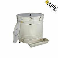 Topitor de ceara cu aburi (fara generator) 200 l Ø600mm