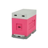 Stup de depozitare/transport, 6 rame, roz